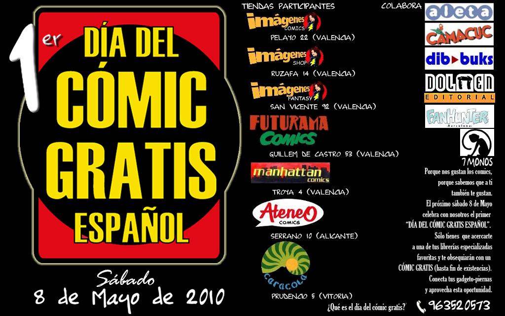Link to Dia del Còmic Gratis Espanyol