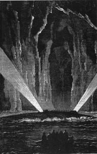 El Nautilus a l'Illa misteriosa
