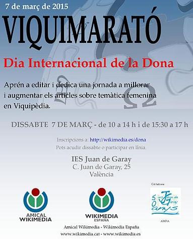 Cartel_Viquimarató_Dia_Internacional_de_la_Dona_2015_-_València